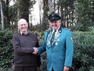 Hermann Volkert erhält Verdienstmedaille